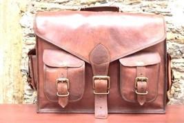 """15"""" Men's Handmade Leather Messenger Laptop Bag Briefcase Satchel Bag New - $58.93"""