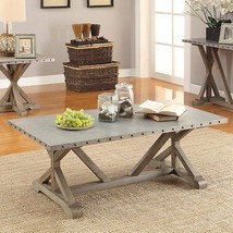 L-Occassionals-Coffee Table - Coffee Table (Driftwood) 703748 - $497.31 CAD