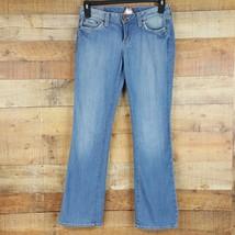 Lucky Brand Jeans Lola Boot Womens Size 6/28 Blue Denim GG15 - $10.39