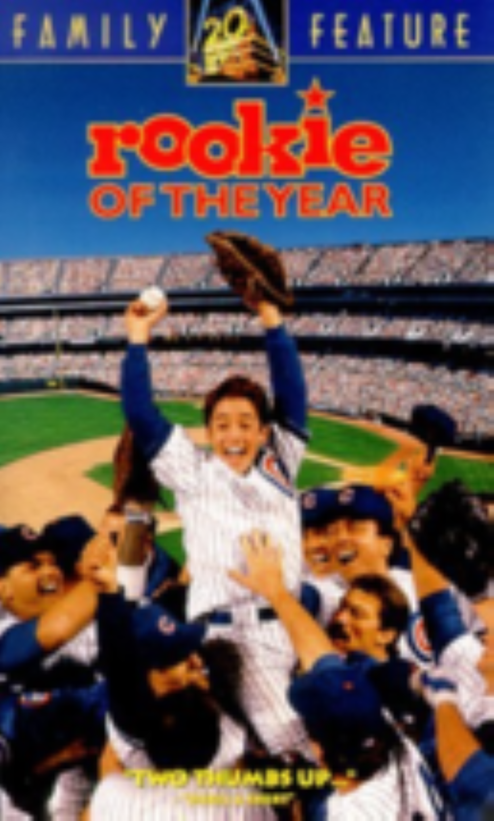 Rookie of the Year Vhs