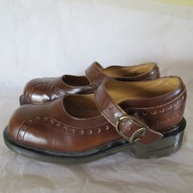 Vtg EEUC Doc Dr Martens Mary Janes Shoes  Strap England UK 5 US 7 - $44.55