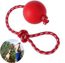 UEETEK Pet Rubber Chew Toy Ball With Rope, Dog Interactive Ball Thrower For - $22.95