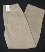 Gander Mountain Heritage Khaki Tan Straight Pants 18 Women Wrinkle Resis... - $19.75