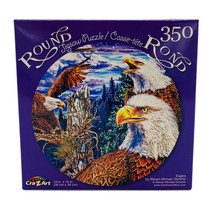Eagles ~ Round Jigsaw Puzzle - 350 Pcs New - $4.46