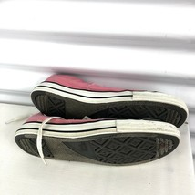 Pink Converse Woman 6 All Stars Low Top Hipster Shoes Canvas image 2