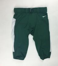 New Nike Michigan State Football Vapor Pro Pant Men's L 845930 Green White - $19.30