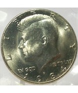 1984-D Kennedy Half Dollar BU In the Cello #0677 - $4.99