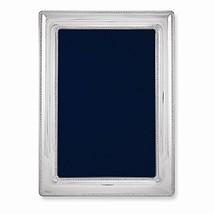 Bilaminate Sterling Silver Dbl Border Bead 7.5x9.5 Frame - $162.26