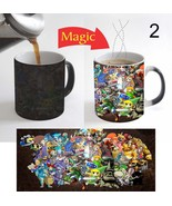 The Legend of Zelda Kids Color Change Magic Tea Coffee Mug 11 Oz for Gif... - $15.83