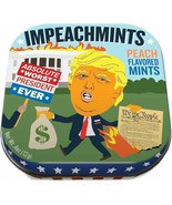 Trump Impeachmints  Tin of Peach Mints Fun Political Free Shipping - $9.95