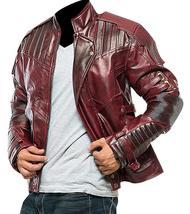 Star Lord Costume Guardians of Galaxy Vol 2 Chris Pratt Biker Leather Jacket image 3
