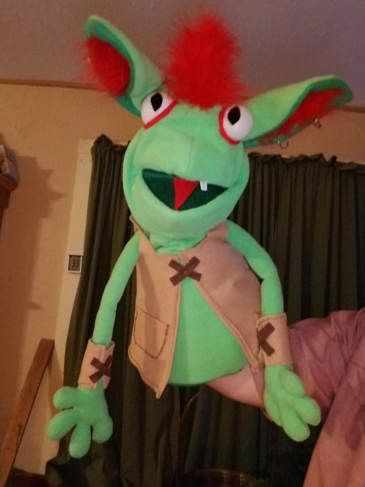 "Professional ""Goblin"" Muppet Style Ventriloquist Puppet * Custom Made * A12"