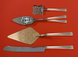 Theme by Gorham Sterling Silver Dessert Serving Set 4pc Custom Made - $299.00