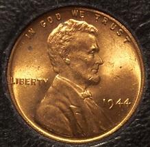 1944 Lincoln Wheat Back Cent Gem UNC #0729 - $4.99