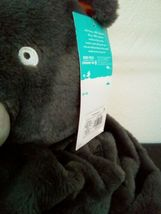 "Bear Micro Plush Hooded Bed Blanket Gray 50"" x 40"" Super Soft - Pillowfort image 3"