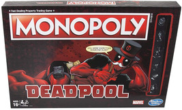 Monopoly Game: Marvel Deadpool Edition - $28.70