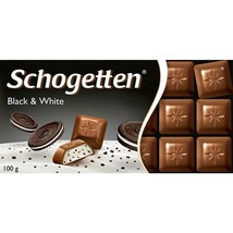 Schogetten Chocolate BLACK & WHITE Made in Germany FREE SHIPPING - $7.47