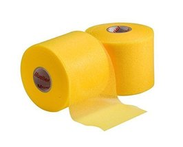 Mixed Colors Bulk Prewrap for Athletic Tape - 48 Rolls, Yellow - $66.99