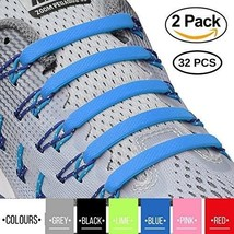 2SPORTIFY No Tie Shoelaces For Kids And Adults - Tieless Elastic Shoe La... - $30.18