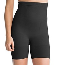 SPANX Slim Cognito Shaping Mid-Thigh Body Briefer Plus Size, 3X, Black - $29.69