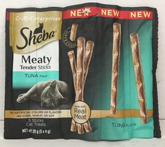 Sheba Tuna Meaty Tender Sticks Cat Treats 0.71 oz -  2 pack - $6.98
