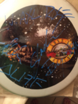Guns N Roses autographed Drumhead signed by all original members - $329.99