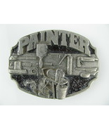 PAINTER BELT BUCKLE BUCKLES SOLID PEWTER 1988 Siskiyou - $9.88
