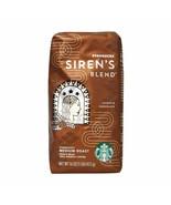 Starbucks Sirens Blend Whole Bean Coffee 1lb Bag Sealed New Fast Ship - $17.95
