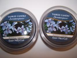 2 Yankee Candle Scenterpiece Moonlit Garden Easy MeltCup 2.2 oz each - $19.99