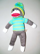 "Spark Create Imagine 16 "" Blue Sock Monkey - $16.82"