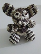 Handmade Crochet Teddy Bear Amigurumi Doll Toy - $25.99