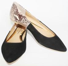 Women's Shoes Jessica Simpson AERITH Ballet Flats Ballerina Black/ Natural US 6 - $39.59