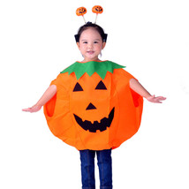 Children's Halloween Party Costume Jackolantern Pumpkin Kid Child - $17.10+