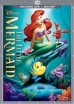 The Little Mermaid DVD and Blue Ray Diamond Edition  - $29.99