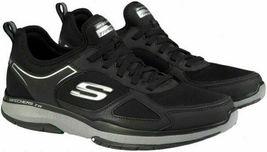 NEW Men's Skechers Burst Athletic Slip-On Memory Foam Shoes Black or Navy image 5