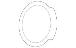 Genuine Mercedes-Benz Water Inlet O-Ring 024-997-54-45 - $7.45
