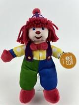 """Gymboree Gymbo The Clown Plush 12"""" Soft Toy Stuffed Plush Doll 2006 New ... - $19.79"""
