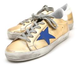 Golden Goose Women's Metalic Superstar Sneakers G31WS590 C35 Authentic - $460.35