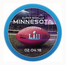"Super Bowl 52 2018 Minnesota 8 ct 7"" Cake Dessert Plates Paper - $4.39"