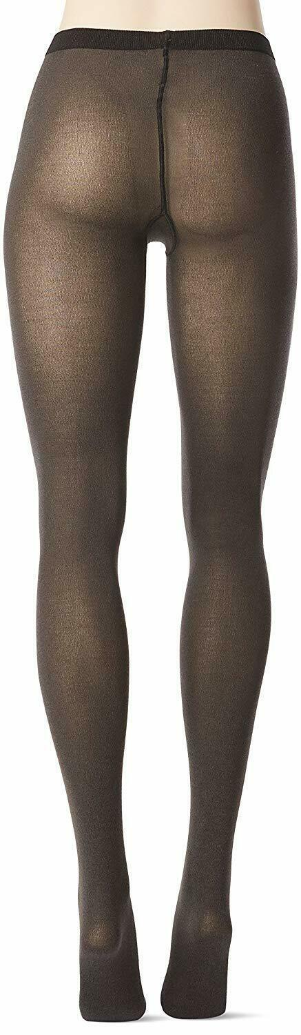 Wolford ANTHRACITE Cotton Velvet 80 Denier Tights, US Small image 4