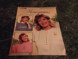 Monograms for Waste Canvas Leaflet 532 Leisure Arts - $2.99