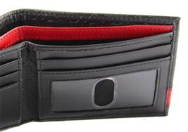 New Guess Men's Leather Credit Card ID Wallet Passcase Billfold Black 31GU13X008 image 7