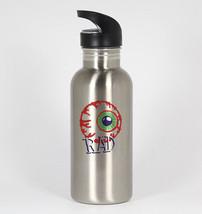 Rad Eyeball #357 - Funny 20oz Silver Water Bottle New Retro Hallowen - $397,90 MXN