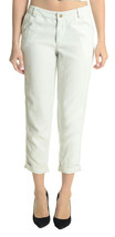NEW M YFB Young Fabulous & Broke Dock Slouchy Leg Cuffed Hem Pant in Ice... - $158.40