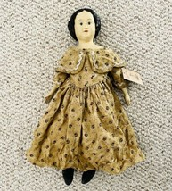 """Handmade Antique Style Reproduction 15"""" Bisque Doll from Honey and Me NWT - $29.70"""