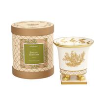 Seda France Classic Toile Petite Ceramic Candle Elegant Gardenia 5oz - $39.00