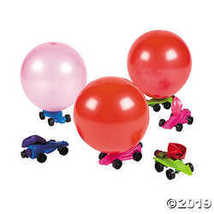 Metallic Balloon Car Racers - $11.61