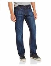 Levi's Men's 514 Straight fit Stretch Jean, Shoestring, Blue 36W x 36L C... - $27.81