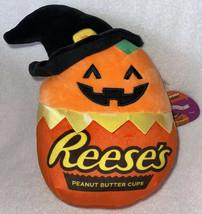 "NEW 10"" PAIGE HERSHEY Orange Jack-o-Lantern Witch Squishmallow Halloween... - $39.99"
