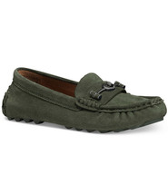 NIB Coach Womens Crosby Driver Olive Loafers Size 5B - $84.15